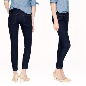 J.Crew ankle Toothpick jean in classic rinse 27